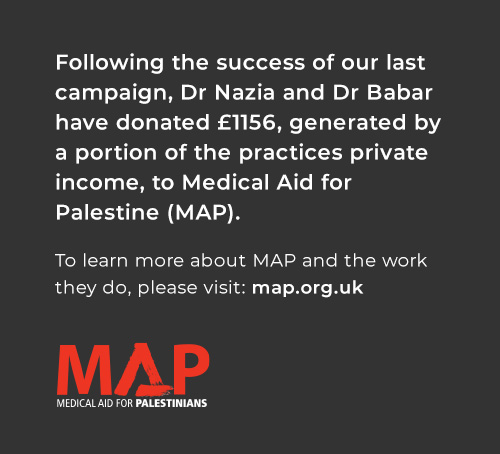 MAP charity campaign